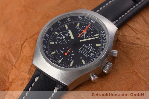 Used luxury watch Sinn 157 chronograph steel automatic Kal. 5100 Lemania  | 153677 01