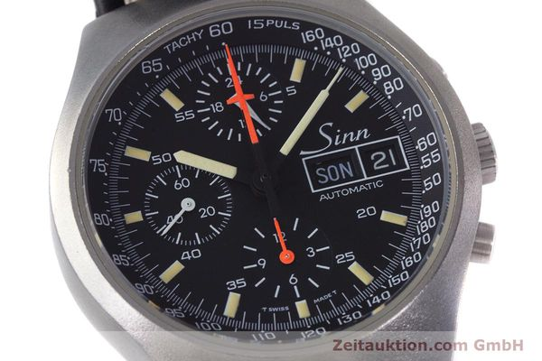 Used luxury watch Sinn 157 chronograph steel automatic Kal. 5100 Lemania  | 153677 02