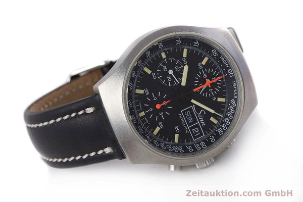 Used luxury watch Sinn 157 chronograph steel automatic Kal. 5100 Lemania  | 153677 03