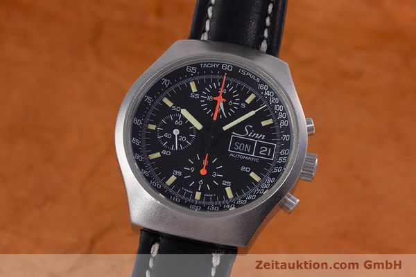 Used luxury watch Sinn 157 chronograph steel automatic Kal. 5100 Lemania  | 153677 04