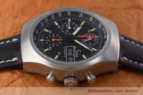 Used luxury watch Sinn 157 chronograph steel automatic Kal. 5100 Lemania  | 153677 05