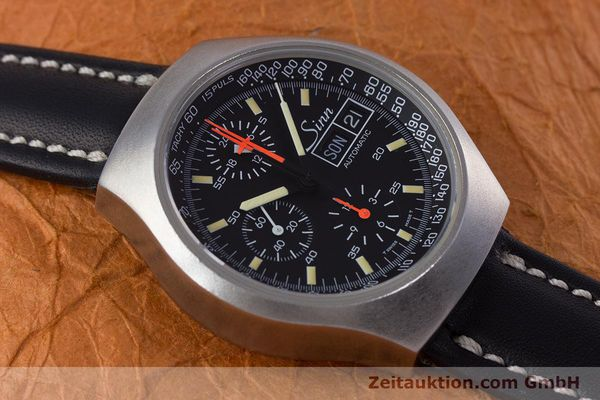 Used luxury watch Sinn 157 chronograph steel automatic Kal. 5100 Lemania  | 153677 13