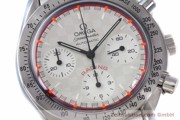 Used luxury watch Omega Speedmaster Racing chronograph steel automatic Kal. 3220A LIMITED EDITION | 153682 02