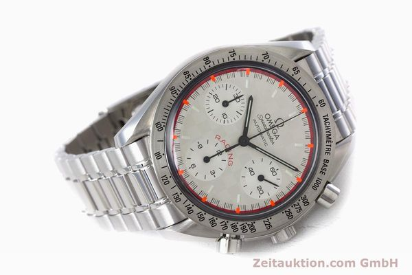 Used luxury watch Omega Speedmaster Racing chronograph steel automatic Kal. 3220A LIMITED EDITION | 153682 03