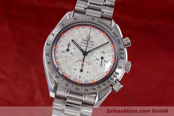 Used luxury watch Omega Speedmaster Racing chronograph steel automatic Kal. 3220A LIMITED EDITION | 153682 04