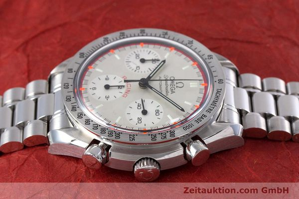 Used luxury watch Omega Speedmaster Racing chronograph steel automatic Kal. 3220A LIMITED EDITION | 153682 05