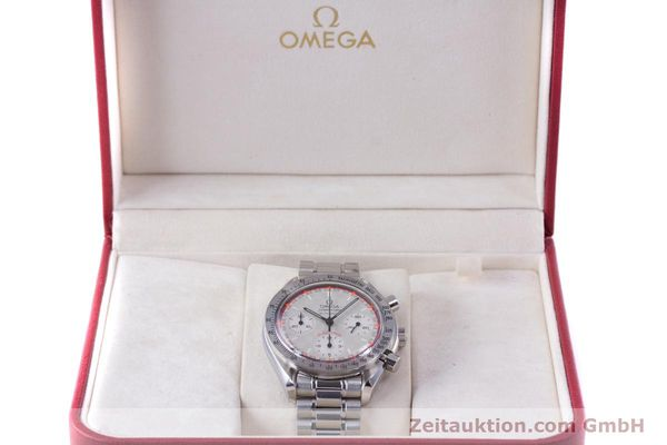 Used luxury watch Omega Speedmaster Racing chronograph steel automatic Kal. 3220A LIMITED EDITION | 153682 07