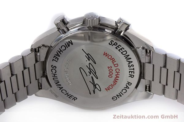 Used luxury watch Omega Speedmaster Racing chronograph steel automatic Kal. 3220A LIMITED EDITION | 153682 08