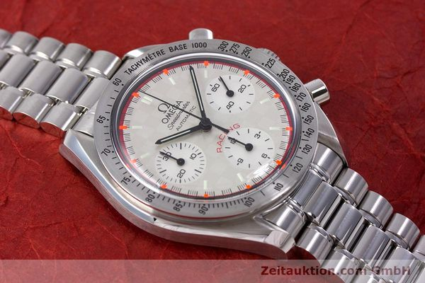 Used luxury watch Omega Speedmaster Racing chronograph steel automatic Kal. 3220A LIMITED EDITION | 153682 17
