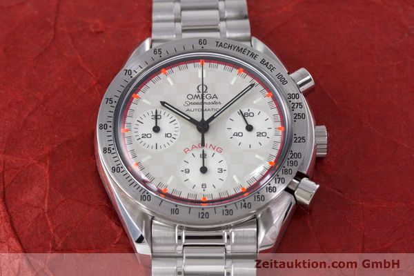 Used luxury watch Omega Speedmaster Racing chronograph steel automatic Kal. 3220A LIMITED EDITION | 153682 18