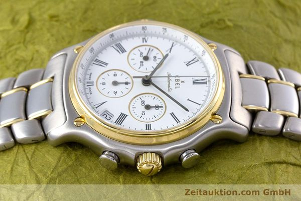 Used luxury watch Ebel 1911 chronograph steel / gold automatic Kal. 134 Ref. 64608370  | 153689 05