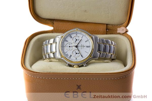 Used luxury watch Ebel 1911 chronograph steel / gold automatic Kal. 134 Ref. 64608370  | 153689 07