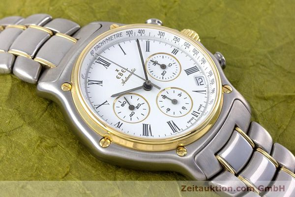 Used luxury watch Ebel 1911 chronograph steel / gold automatic Kal. 134 Ref. 64608370  | 153689 15