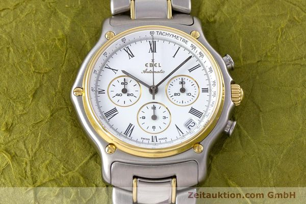Used luxury watch Ebel 1911 chronograph steel / gold automatic Kal. 134 Ref. 64608370  | 153689 16