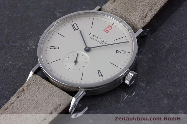 Used luxury watch Nomos Tangente steel manual winding Kal. Alpha  | 153697 01