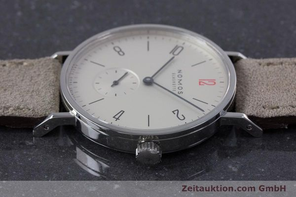 Used luxury watch Nomos Tangente steel manual winding Kal. Alpha  | 153697 05