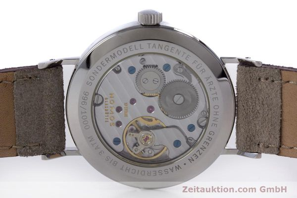 Used luxury watch Nomos Tangente steel manual winding Kal. Alpha  | 153697 09