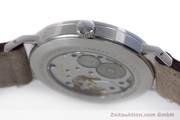 Used luxury watch Nomos Tangente steel manual winding Kal. Alpha  | 153697 11