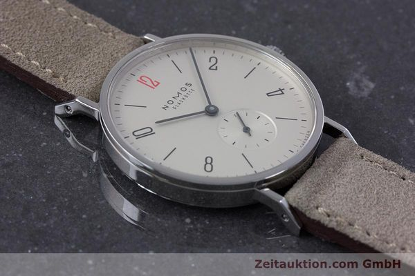 Used luxury watch Nomos Tangente steel manual winding Kal. Alpha  | 153697 15