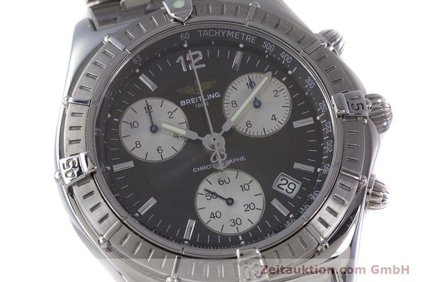 Used luxury watch Breitling Sirius chronograph steel quartz Kal. B53 ETA 251262 Ref. A53011  | 153700 02