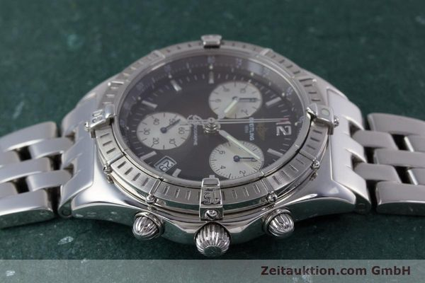 Used luxury watch Breitling Sirius chronograph steel quartz Kal. B53 ETA 251262 Ref. A53011  | 153700 05