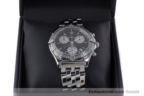 Used luxury watch Breitling Sirius chronograph steel quartz Kal. B53 ETA 251262 Ref. A53011  | 153700 07