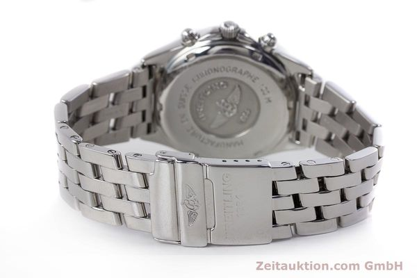 Used luxury watch Breitling Sirius chronograph steel quartz Kal. B53 ETA 251262 Ref. A53011  | 153700 11