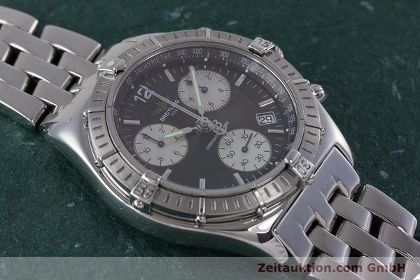 Used luxury watch Breitling Sirius chronograph steel quartz Kal. B53 ETA 251262 Ref. A53011  | 153700 15