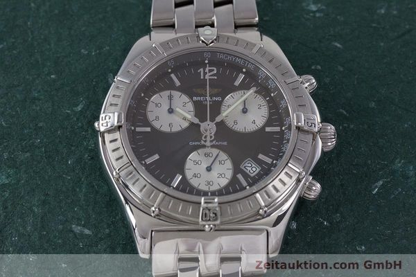 Used luxury watch Breitling Sirius chronograph steel quartz Kal. B53 ETA 251262 Ref. A53011  | 153700 16