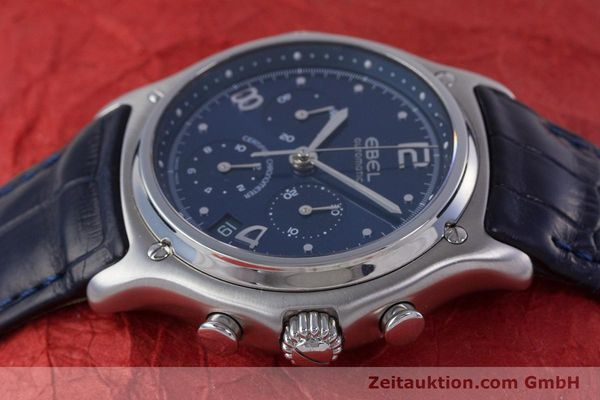 Used luxury watch Ebel 1911 chronograph steel automatic Kal. 137 Ref. E9137240  | 153704 05
