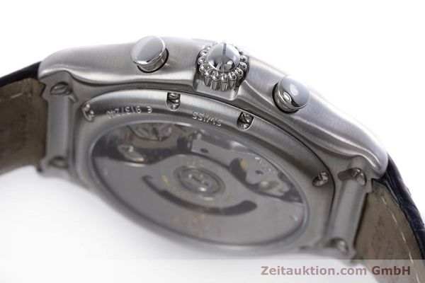 Used luxury watch Ebel 1911 chronograph steel automatic Kal. 137 Ref. E9137240  | 153704 08