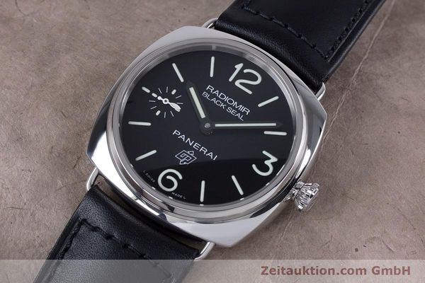 Used luxury watch Panerai Black Seal steel manual winding Kal. ETA 6497-2 Ref. OP6826, PAM00380  | 153709 01