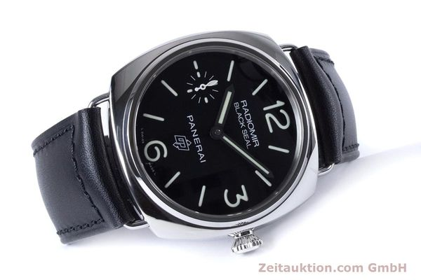Used luxury watch Panerai Black Seal steel manual winding Kal. ETA 6497-2 Ref. OP6826, PAM00380  | 153709 03