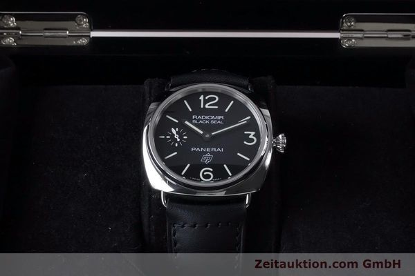 Used luxury watch Panerai Black Seal steel manual winding Kal. ETA 6497-2 Ref. OP6826, PAM00380  | 153709 07