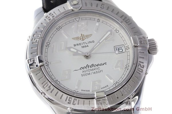 Used luxury watch Breitling Colt Oceane steel automatic Kal. B17 ETA 2824-2 Ref. A17050  | 160001 02