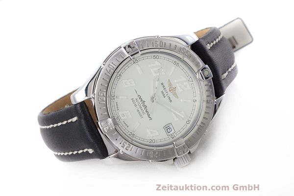Used luxury watch Breitling Colt Oceane steel automatic Kal. B17 ETA 2824-2 Ref. A17050  | 160001 03