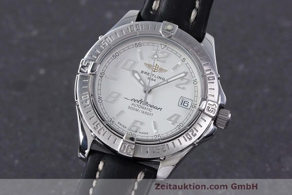 Used luxury watch Breitling Colt Oceane steel automatic Kal. B17 ETA 2824-2 Ref. A17050  | 160001 04