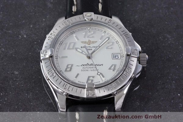 Used luxury watch Breitling Colt Oceane steel automatic Kal. B17 ETA 2824-2 Ref. A17050  | 160001 14