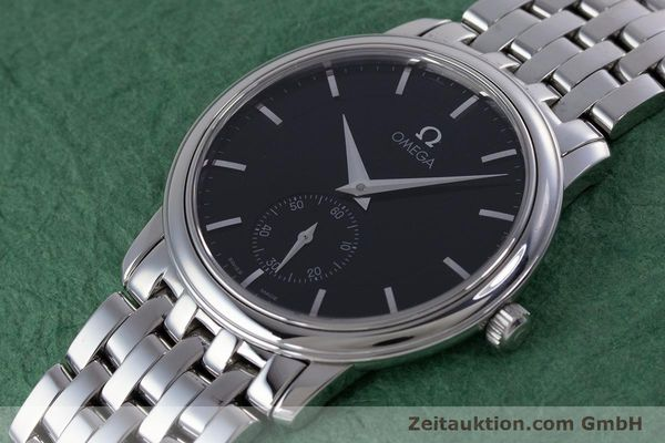 Used luxury watch Omega De Ville steel manual winding Kal. 651 Ref. 45205100  | 160005 01