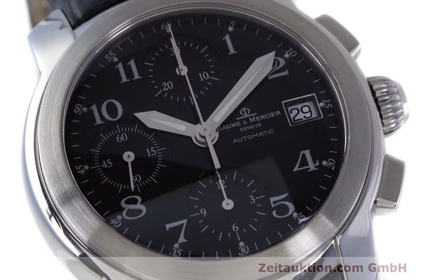 Used luxury watch Baume & Mercier Capeland chronograph steel automatic Kal. BM 13750 ETA 7750 Ref. MV045216  | 160009 02