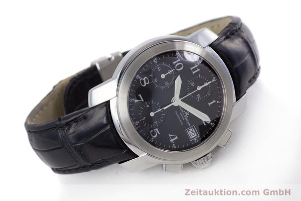 Used luxury watch Baume & Mercier Capeland chronograph steel automatic Kal. BM 13750 ETA 7750 Ref. MV045216  | 160009 03