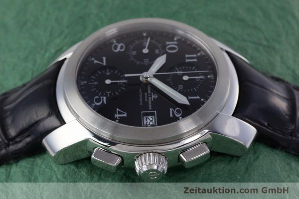 Used luxury watch Baume & Mercier Capeland chronograph steel automatic Kal. BM 13750 ETA 7750 Ref. MV045216  | 160009 05