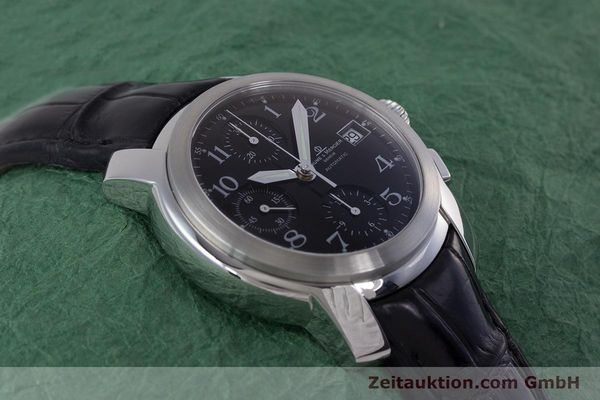 Used luxury watch Baume & Mercier Capeland chronograph steel automatic Kal. BM 13750 ETA 7750 Ref. MV045216  | 160009 14