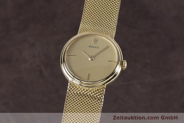 Used luxury watch Rolex * 18 ct gold manual winding Kal. 1600 Ref. 890-35  | 160018 04