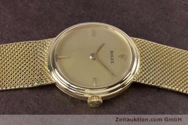 Used luxury watch Rolex * 18 ct gold manual winding Kal. 1600 Ref. 890-35  | 160018 05