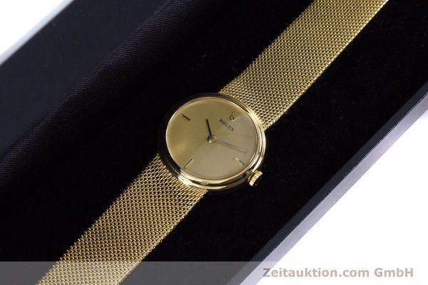 Used luxury watch Rolex * 18 ct gold manual winding Kal. 1600 Ref. 890-35  | 160018 07