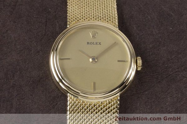 Used luxury watch Rolex * 18 ct gold manual winding Kal. 1600 Ref. 890-35  | 160018 16