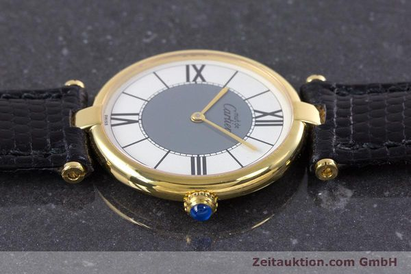 Used luxury watch Cartier Vermeil silver-gilt quartz Kal. 90  | 160019 05