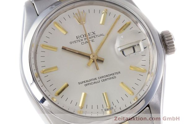 Used luxury watch Rolex Date steel automatic Kal. 1570 Ref. 1500  | 160020 02