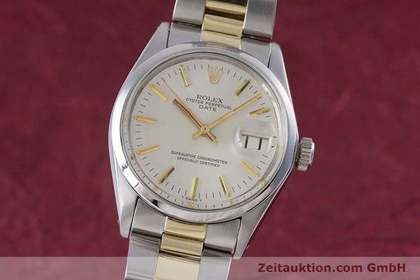Used luxury watch Rolex Date steel automatic Kal. 1570 Ref. 1500  | 160020 04